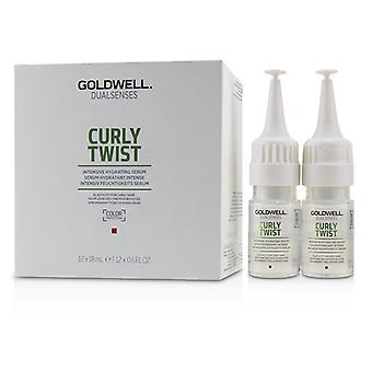 Goldwell Dual Senses Curly Twist Intensive Hydrating Serum (Elasticity For Curly Hair) - 12x18ml/0.6oz