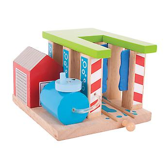 Bigjigs Rail Wooden Train Washer Compatible Train Track Railway Accessories