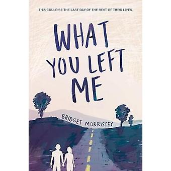 What You Left Me by What You Left Me - 9781492655510 Book