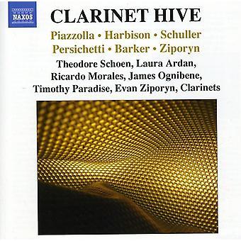 Piazzolla/Harbison/Scholler - klarinett bikupa [CD] USA import