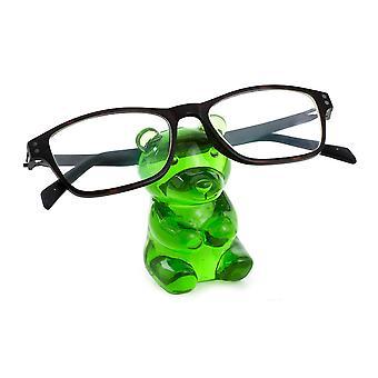 Eyewear holder Yummie Bear Green