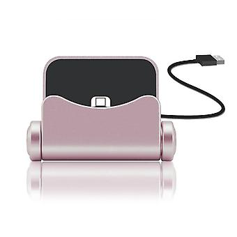 For Landvo XM200 Pro - Rose Pink Stylish Charger Dock Station Stand by i-Tronixs