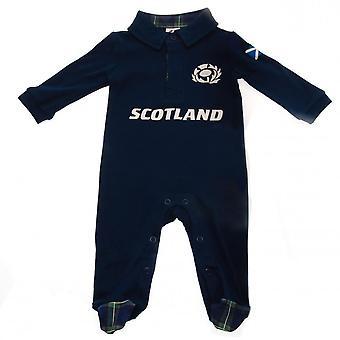 Scotland RU Baby Sleepsuit