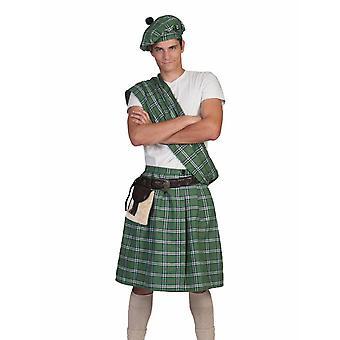 Costume di Pierro scozzesi Douglas Costume da uomo Taglia Una Taglia