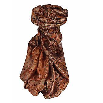 Mens Jamawar Premium Silk Scarf Pattern 7259 by Pashmina & Silk