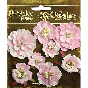 Penny Lane Mixed Blossoms 8 Pkg Soft Pink P1836 058