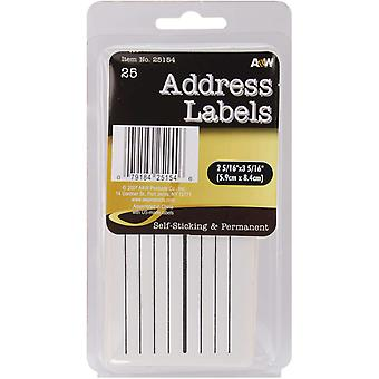 Labels Address 2.3125