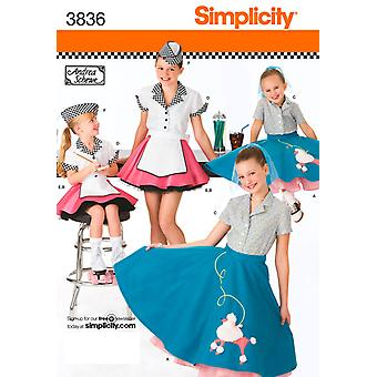 Simplicity Childs And Girls Costumes 7,8,10,12,14 U03836k5