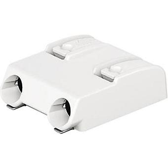 Spring-loaded terminal 0.75 mm² Number of pins 2 2060-852/998-404 WAGO White 1 pc(s)