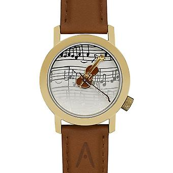 Akteo Violon Strad Gold (1) (Fashion accesories , Watches , Analog)