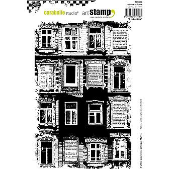 Carabelle Studio Cling Stamp A5-At The Window SA50006