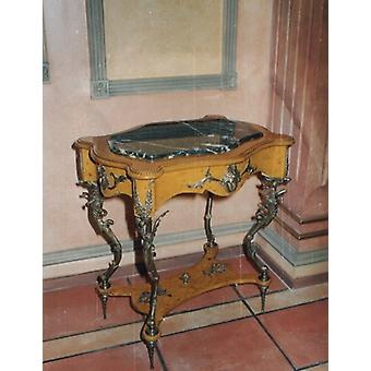 baroque table antique style  side table louis pre victorian MoAl0230