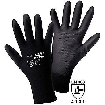 worky 1151 Worky 1151 Micro PU Coated Knitted Nylon Glove (Size 7, Black)