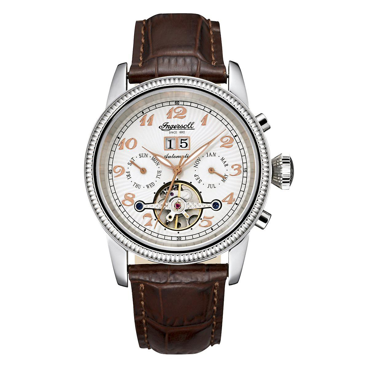 Ingersoll men's watch wristwatch automatic Richmond II IN1801WH