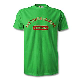 Sao Tome e Principe Football Kids T-Shirt