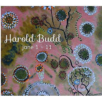 Harold Budd - Jane 1-11 [CD] USA import