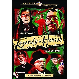 Hollywood Legends of Horror Collection [DVD] USA import