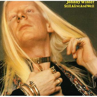 Johnny Winter - Still Alive & gut [CD] USA import