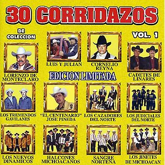 30 Corridazos - Vol. 1-30 Corridazos [CD] USA importerer