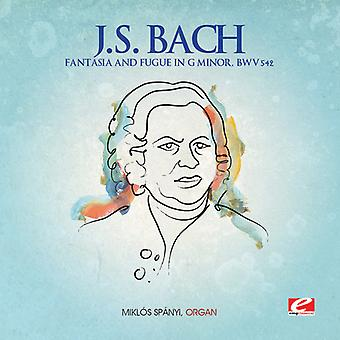 J.S. Bach - Fantasia & Fugue in G Minor [CD] USA import