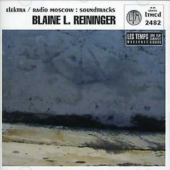 Blaine L. Reininger - Elektra/Radio Moskva [Soundtracks] [CD] USA importerer