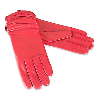 Quivano Ladies Genuine Leather Gloves Fleece Lined Womens Real 313-200
