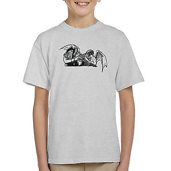 Shiver Me Tentacles Davey Jones Cthulhu Kid's T-Shirt