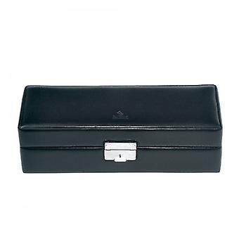 Watch box for 6 watches black case for wristwatches watches case