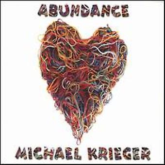 Michael Krieger - Abundance [CD] USA import