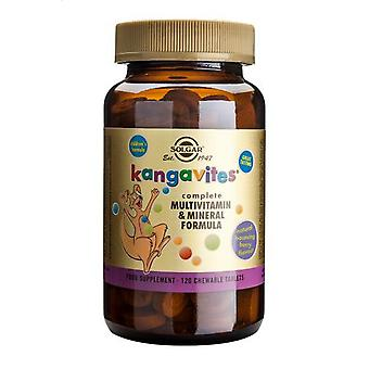 Solgar, Kangavites Multivitamin & Mineral Bouncin' Berry smak Chewable tabletter, 120
