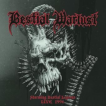Bestialske Warlust - stormede bestialske legioner Live ' 96 [CD] USA import