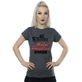 Amerikanske guder kvinders Motel Amerika Neon T-Shirt