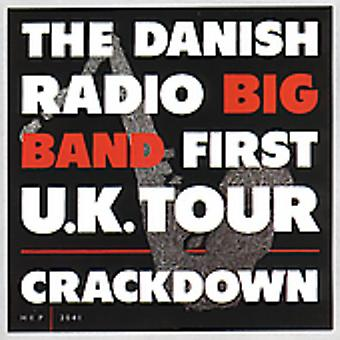 Danmarks Radio bigband - første Uk Tour-Crackdown [CD] USA importerer