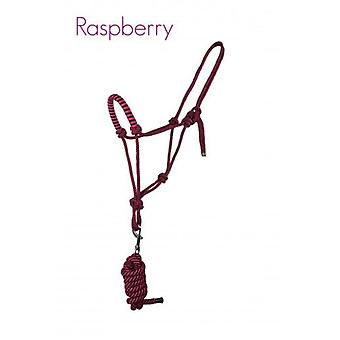 QHP Ramal halter rope with Raspberry Pony (Horses , Pony world , Bridles and reins)