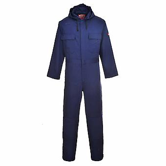 Portwest - Bizweld Flame Resistant Safety Workwear Hooded Coverall Boilersuit