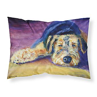 Snoozer Airedale Terrier Fabric Standard Pillowcase