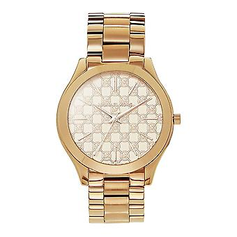 Michael Kors Watches Mk3336 Slim Runway Rose Gold Ladies Watch