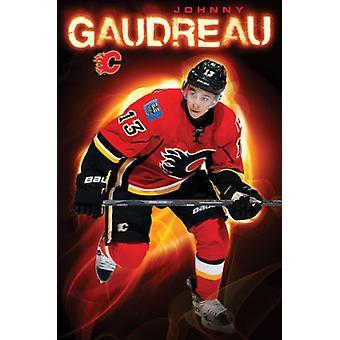 Calgary Flames - J Gaudreau 15 Poster Poster afdrukken