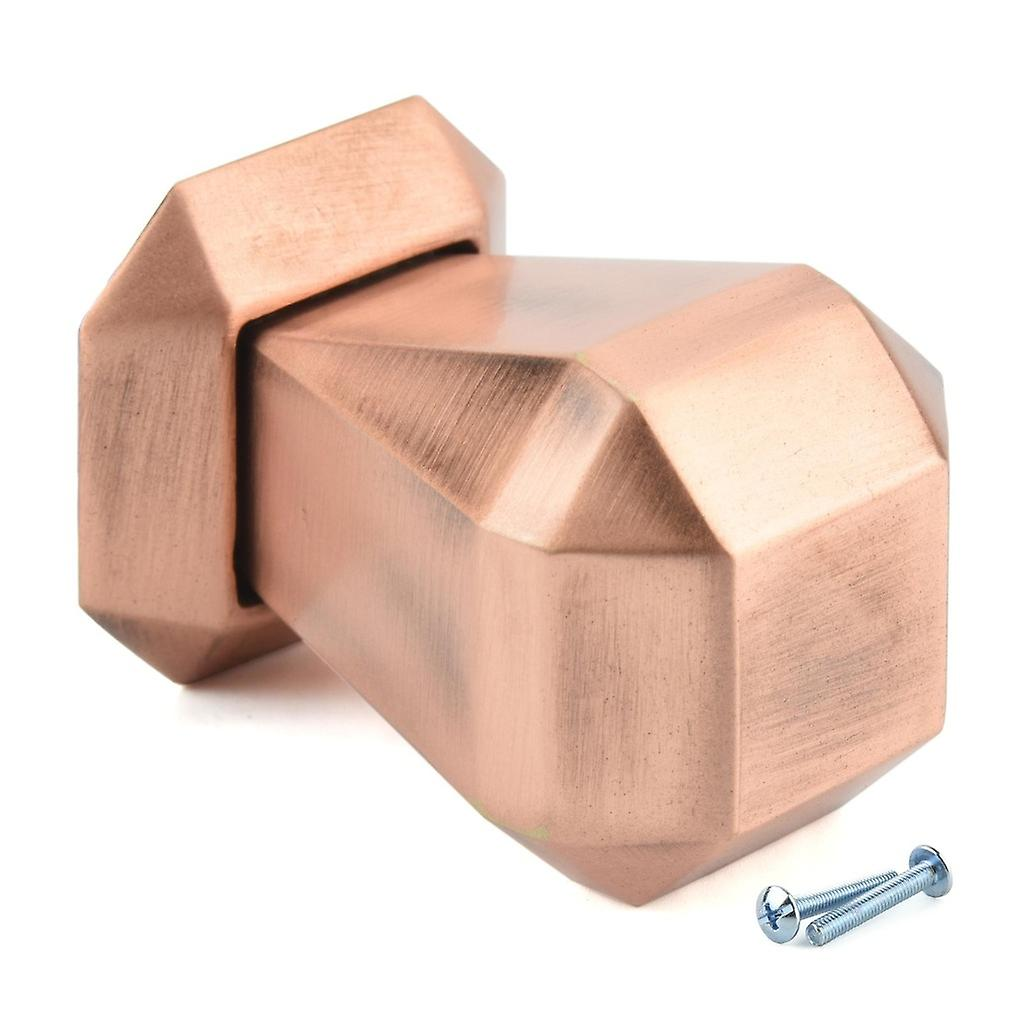 M4TEC Interior Kitchen Cabinet Door Knobs Cupboards Drawers Bedroom Furniture Pull Handles Brushed Copper. H8 series