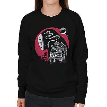 Spirited Away vergessenen Namen Damen Sweatshirt