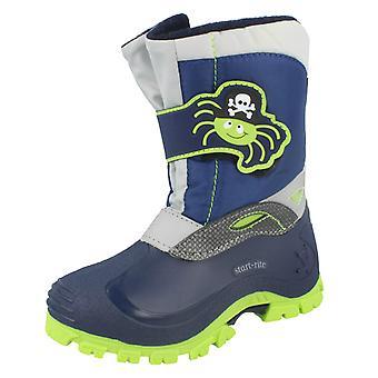 Boys Startrite Snow Boots 'Spider Snow'