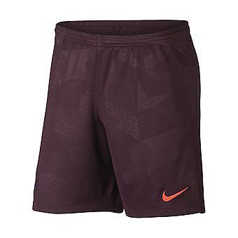 2017-2018 Barcelona Third Nike Football Shorts Night Maroon (Kids)