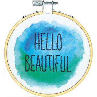 Hello Beautiful Mini Embroidery Kit-4