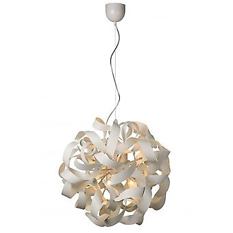 Lucide ATOMITA Pendant D65cm 12xG9/33Wexcl. White