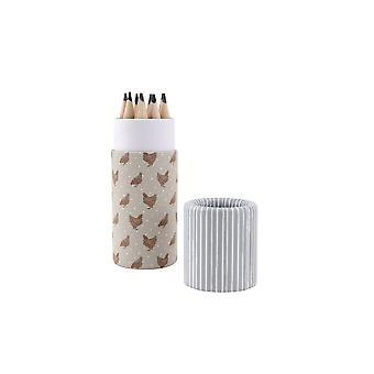 CGB Giftware Holly House Chicken Pencil Pot