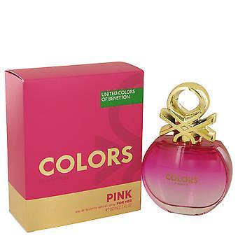 Benetton Colors de Benetton Pink Eau de Toilette 80ml EDT Spray