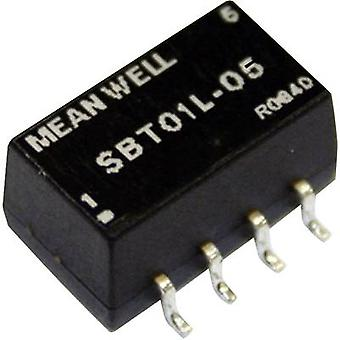DC/DC converter (SMD) Mean Well 5 Vdc 12 Vdc 84 m