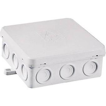 Junction box (L x W x H) 96 x 96 x 40 mm Wiska 10060554 Grey (RA