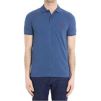 Brooks Brothers mens 100036270 light blue cotton polo shirt