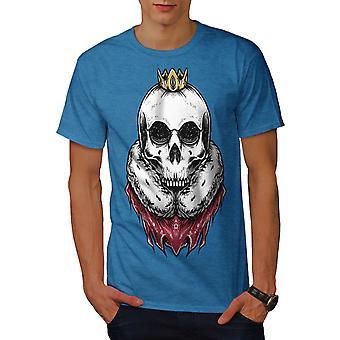 Royal Skull Judge Men Royal BlueT-shirt | Wellcoda